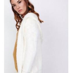 Abrigo margot blanco