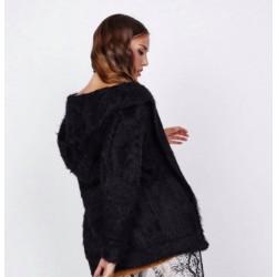 Abrigo margot negro